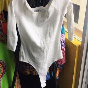 Fashion Nova Bodysuit NWT